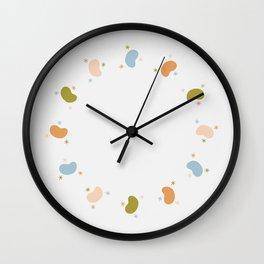 Beans & Stars Wall Clock