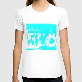 Sun Studio Guitars, Blue T-shirt