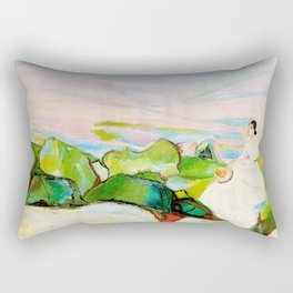 On the Cliff Rectangular Pillow
