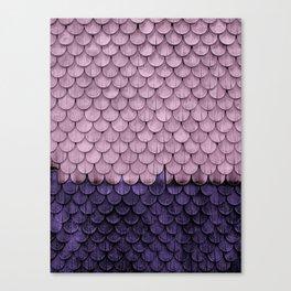 SHELTER / Ultra Violet / Pink Lavender Canvas Print