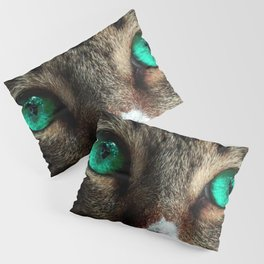 Green Eye Double Sided Pillow Sham