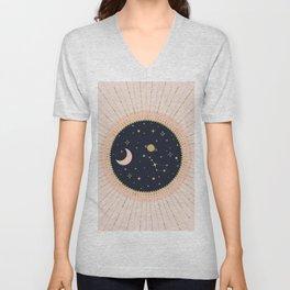 Love in Space Unisex V-Neck