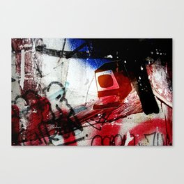 Monitor Canvas Print