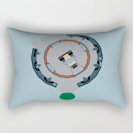 Enterprise main bridge Rectangular Pillow