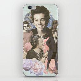 Harry Styles + Flowers iPhone Skin