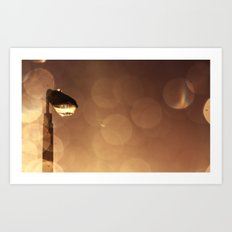 Moody dreams Art Print