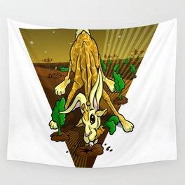 Mutant Zoo - Girabbit Wall Tapestry