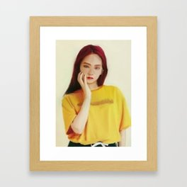 Jisoo Blackpink Framed Art Print