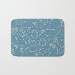 Minimalist Platypus Bath Mat