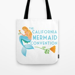 Simple Logo ·•· California Mermaid Convention Tote Bag