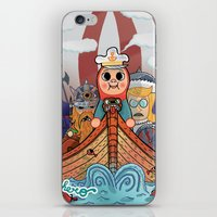 "vikings iPhone & iPod Skins featuring My dangerous Friends. (Vikings) by Olivier Dressen aka ""HERO"""