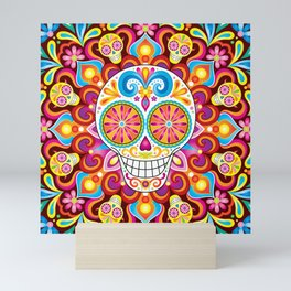 Sugar Skull (Trip the Light) Mini Art Print