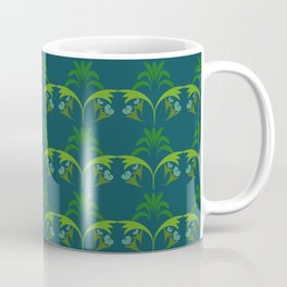 Green Wheat Floral Coffee Mug