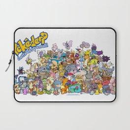 Pokémon - Gotta derp 'em all! - Group photo Laptop Sleeve