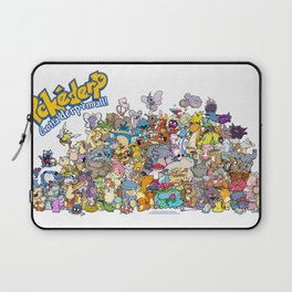 Pokémon - Gotta derp 'em all! - Group photo Laptop Sleeve