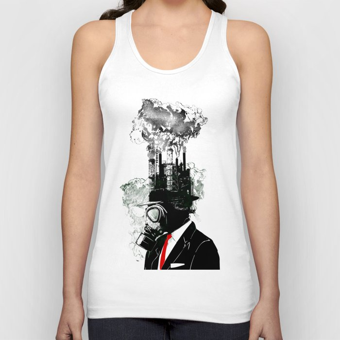 Businessman Unisex Tank Top