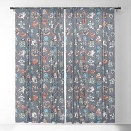 Yokai Sheer Curtain
