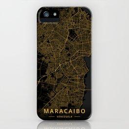 Maracaibo, Venezuela - Gold iPhone Case