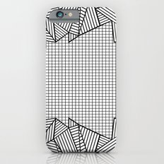 Grids and Stripes iPhone 6s Slim Case