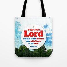 Love to the Heavens Tote Bag