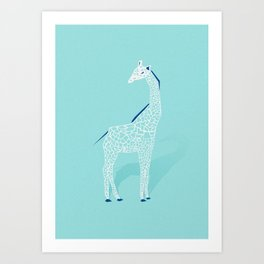 Animal Kingdom: Giraffe II Art Print