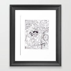 HIDDen PUSSYcatz Framed Art Print