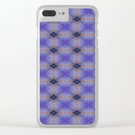 Crook Crate Pattern Clear iPhone Case