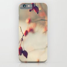 red winter berries iPhone 6s Slim Case