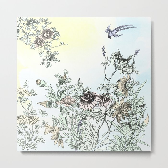The dance of Spring Metal Print
