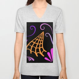 Halloween Nights Created By Kat Co Unisex V-Neck