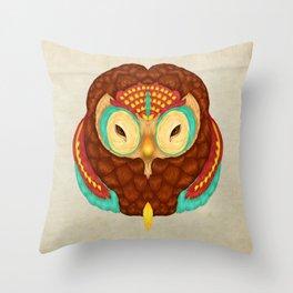 Owl Alebrije  Throw Pillow