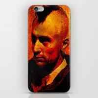 robert farkas iPhone & iPod Skins featuring ROBERT D. by Ganech joe