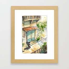 Kettle's Home and Shop - Parsley Merlin and Beatrice Page Framed Art Print