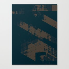 Abstract_Blue Canvas Print