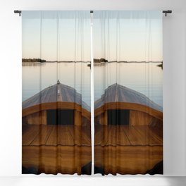 Summer Mornings On The Lake Blackout Curtain
