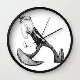 Canuck Chuck Wall Clock