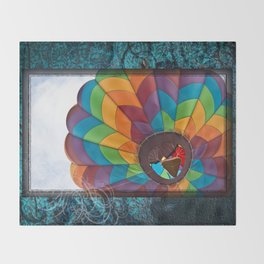 Burst of Color Throw Blanket