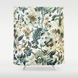 Waning Colors Shower Curtain