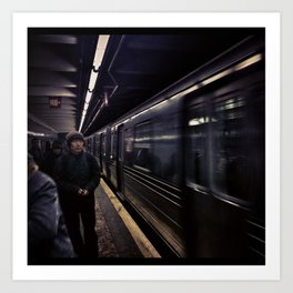 Subway Series No.5 Art Print