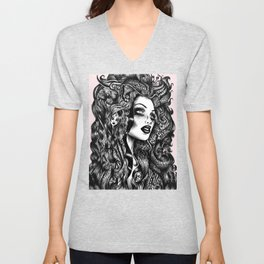Baroque Head Unisex V-Neck
