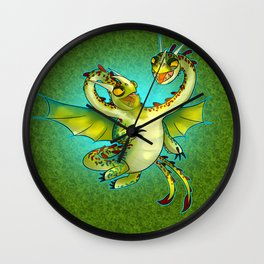 How To Train You Dragon 2- Barf and Beltch Wall Clock