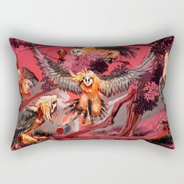Harpies Rectangular Pillow