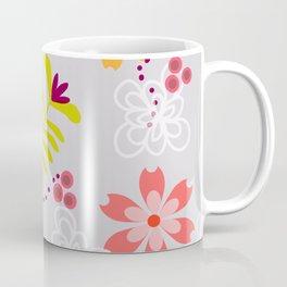Spring Foral Design Coffee Mug