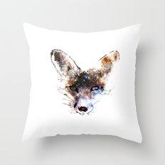 Stars in a Fox Throw Pillow
