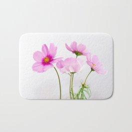 cosmea flowers #society6 #decor #buyart Bath Mat