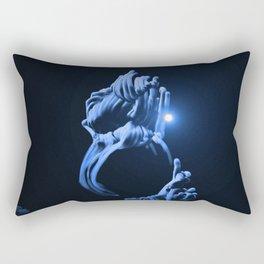 Digital Anemone Rectangular Pillow