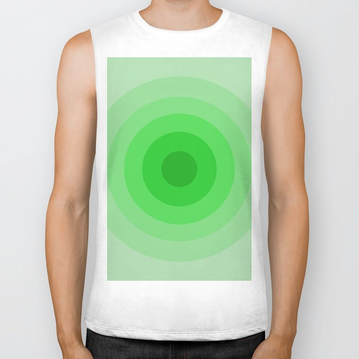 Shades Of Green Biker Tank