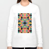 kaleidoscope Long Sleeve T-shirts featuring Kaleidoscope by Andy Westface
