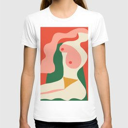 abstract nude 2 T-shirt