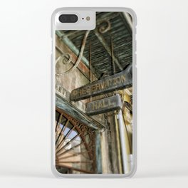 Preservation Hall Clear iPhone Case